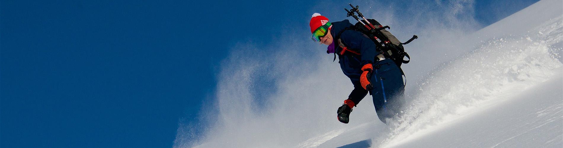 Snowboard down the pristine Lyngen Alps | Lyngen Lodge